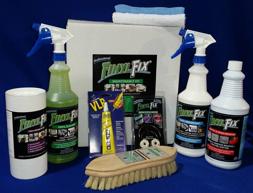 Clean and repair your upholstery with our full maintenance kit.